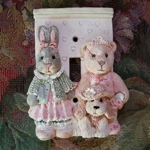 Other - Light Switch Cover Girls Nursery Bedroom